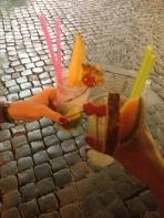 Drinks in Trastevere