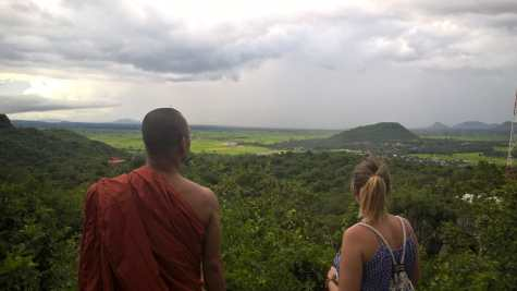 View from Phnom Sampeou